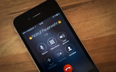 Notruf 112 – Mobilfunknetz